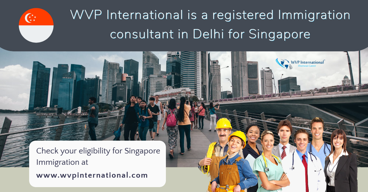 best immigration consultants in delhi for Singapore
